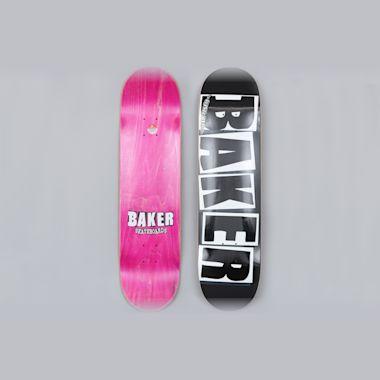 Baker 8 Brand Logo Skateboard Deck Black / White