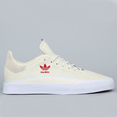 adidas Sabalo Najera Shoes Cream White / Footwear White / Power Red