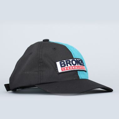 Bronze Technologies Cap Black / Teal