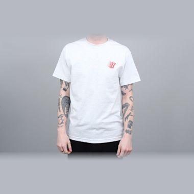 Second view of Bronze B Logo T-Shirt Ash / Infrared