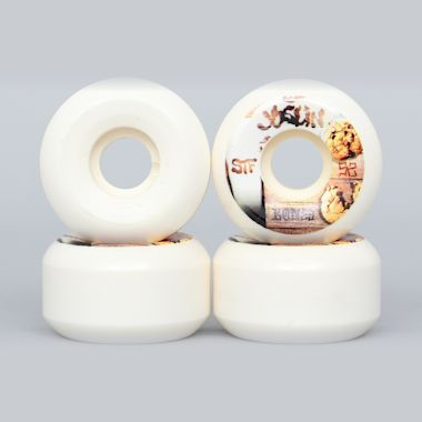 Bones 52mm STF Joslin Cookies Sidecuts V5 Wheels White