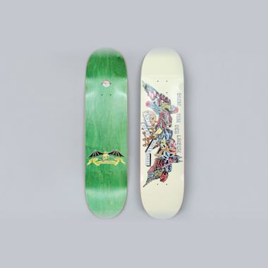 Anti Hero 8.06 Daan We Fly Skateboard Deck Bone