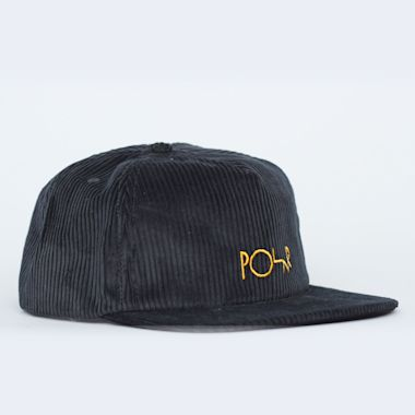 Polar Cord 5 Panel Cap Black