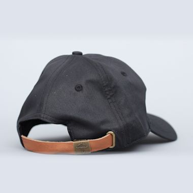 Second view of Helas Wavy Cap Black
