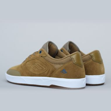 Second view of Emerica Dissent Shoes Khaki
