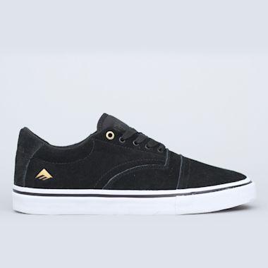 Emerica Provider Shoes Black / White / Gold