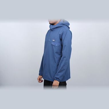 Second view of Patagonia Maple Grove Snap-T Pullover Jacket Stone Blue