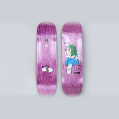 Polar 8.625 Dane Brady Bacon Hair Skateboard Deck
