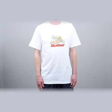 Butter Goods Bazooka T-Shirt White