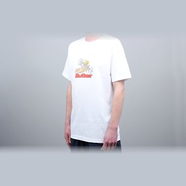 Second view of Butter Goods Bazooka T-Shirt White