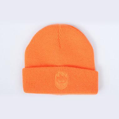 Spitfire Bighead Cuff Beanie Orange / Orange