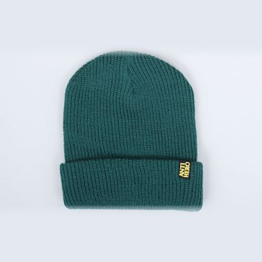 Anti Hero Blackhero Clip Label Cuff Beanie Forrest Green / Yellow