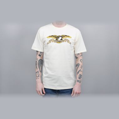Anti Hero Eagle T-Shirt Cream