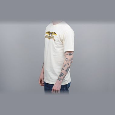 Second view of Anti Hero Eagle T-Shirt Cream