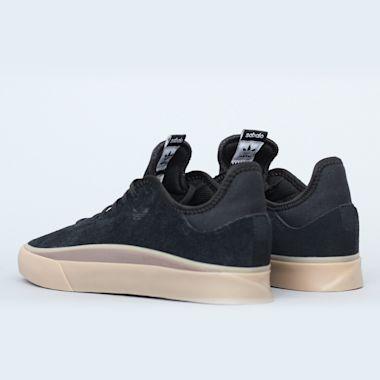 Second view of adidas Sabalo Shoes Black / Gum / Gum