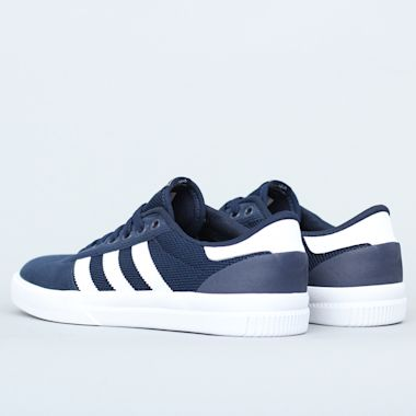 Second view of adidas Lucas Premiere Shoes Collegiate Navy / Footwear White / Footwear White