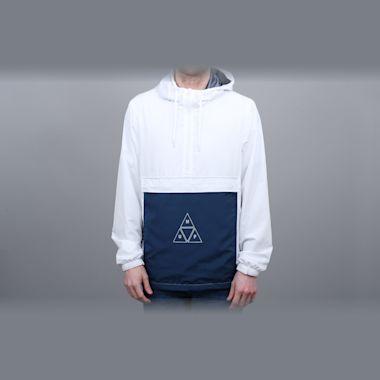 HUF Peak 3.0 Anorak Jacket White