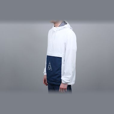 Second view of HUF Peak 3.0 Anorak Jacket White