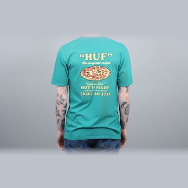 HUF Hot & Ready T-Shirt Deep Jungle