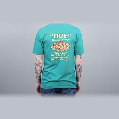 HUF Hot & Ready T-Shirt Deep Jungle