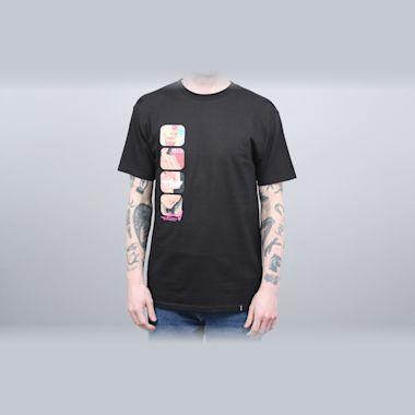 HUF Channel J T-Shirt Black