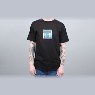 HUF Gift Shop Box Logo T-Shirt Black
