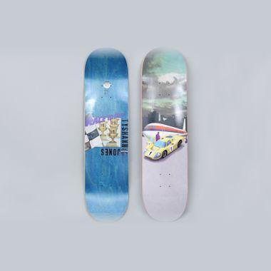 Fucking Awesome 8.18 Tyshawn TJ Racer Skateboard Deck