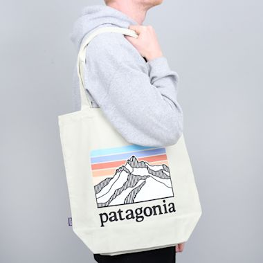 Second view of Patagonia Market Tote Bleached Stone