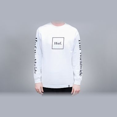 HUF Domestic Longsleeve T-Shirt White