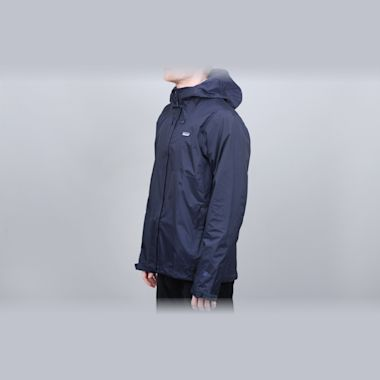 Second view of Patagonia Torrentshell Jacket Navy Blue