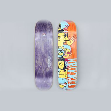 Krooked 8.25 Sebo Dewds Skateboard Deck Multi