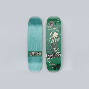 Creature 8.25 Creeper Team MD Skateboard Deck Green