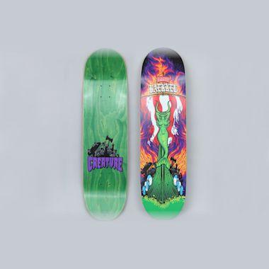 Creature 8.5 Baekkel Slagship II Skateboard Deck Multi