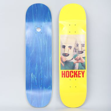 Hockey 8.25 Baghead Skateboard Deck Yellow