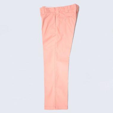 Second view of Dickies Slim 873 Work Pant Flamingo