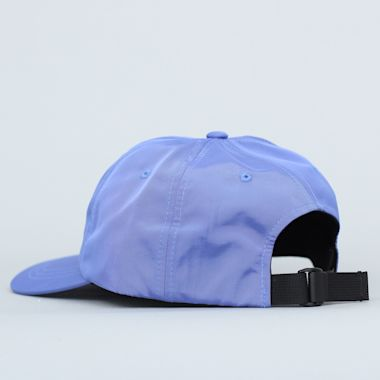 Second view of Stussy Rubber Patch Low Pro Cap Blue