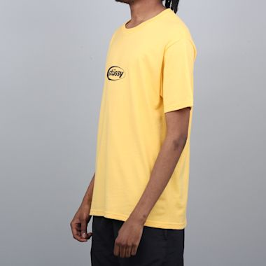 Second view of Stussy Eclipse T-Shirt Orange