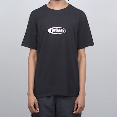 Stussy Eclipse T-Shirt Black