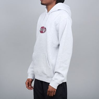 Second view of Stussy Oval App Hood Ash Heather