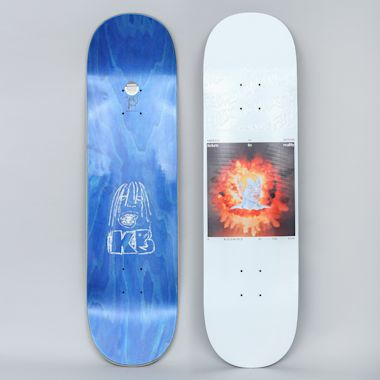 Fucking Awesome 8.38 Kevin Bradley Tickets To Reality Skateboard Deck