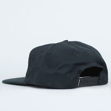 Second view of Dial Tone Dial Strapback Cap Black / Lavender