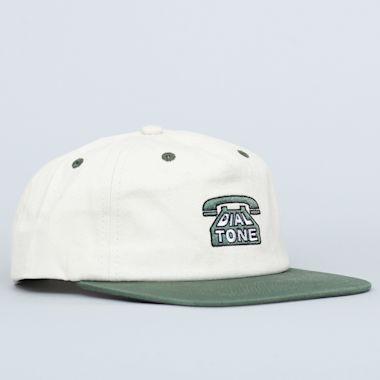 Dial Tone Dial Strapback Cap Cream / Forrest