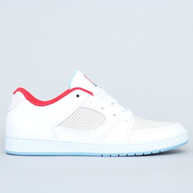 eS Accel Slim Shoes White / White / Blue