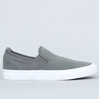 Emerica Wino G6 Slip-On Shoes Grey