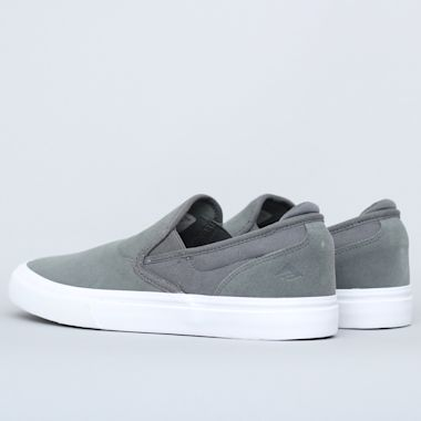 Second view of Emerica Wino G6 Slip-On Shoes Grey