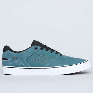 Emerica The Reynolds Low Vulc Shoes Teal / Black