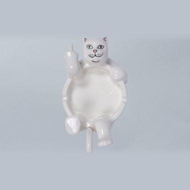 RIPNDIP Lazy Nerm Ceramic Ashtray White