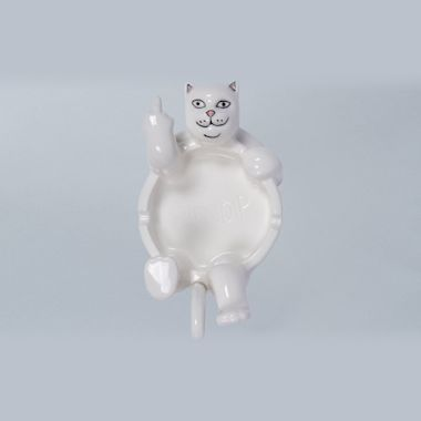 RIPNDIP Lazy Nerm Ceramic Ashtray White