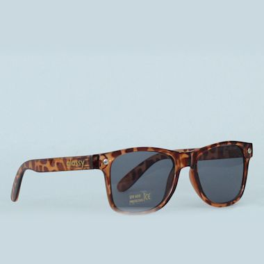 Glassy Leonard Brown Tort Sunglasses
