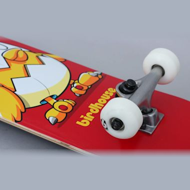 Second view of Birdhouse 7.375 Stage 1 Chicken Complete Skateboard Red